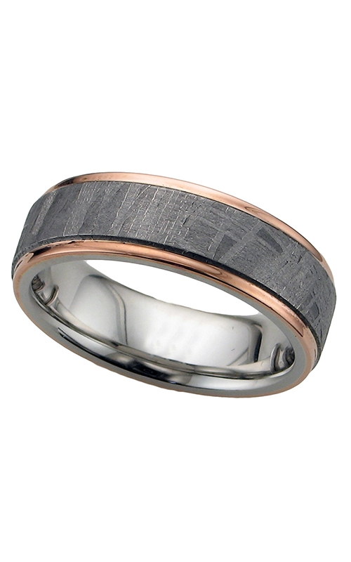 GMG Jewellers Wedding band CC7FGE15C/METEORITE21EDGE/14KR product image