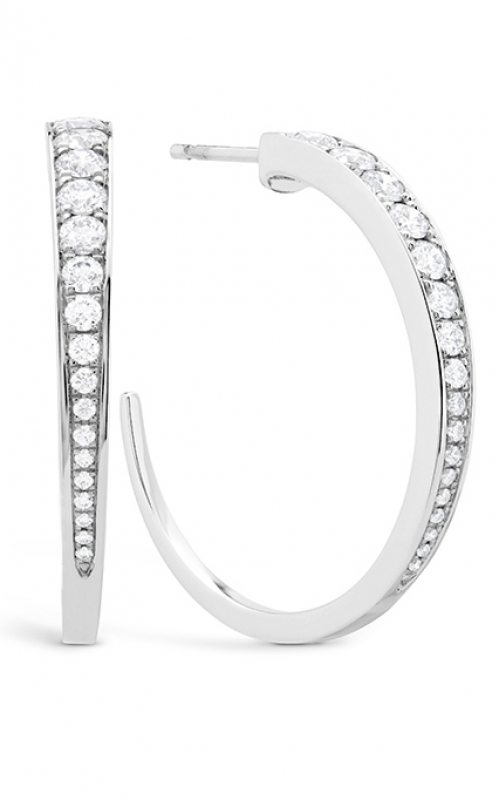 GMG Jewellers Earrings HOOPTRIP00308W product image