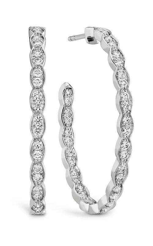 GMG Jewellers Earrings HOOPLFOVIO00888W product image