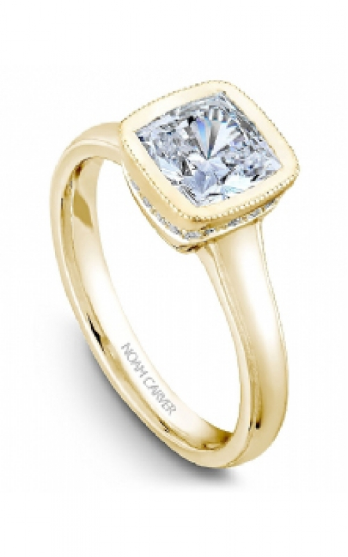 GMG Jewellers Engagement ring B028-01YM-100A product image