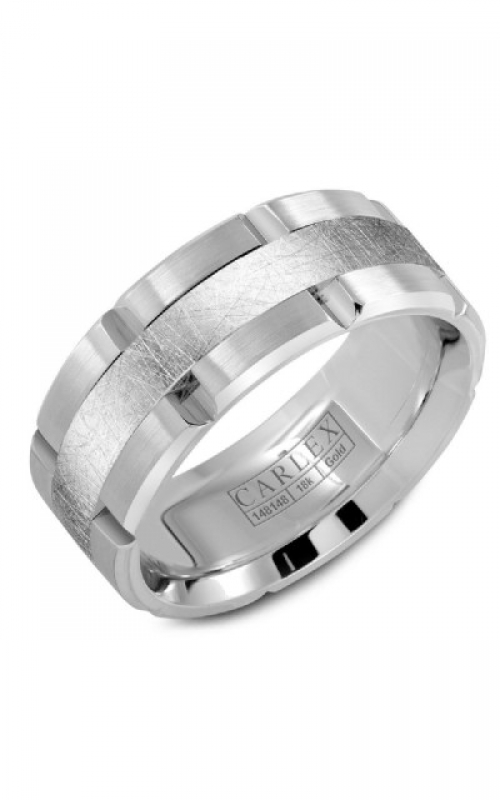 GMG Jewellers Wedding band CX1-0007DBWW-S product image