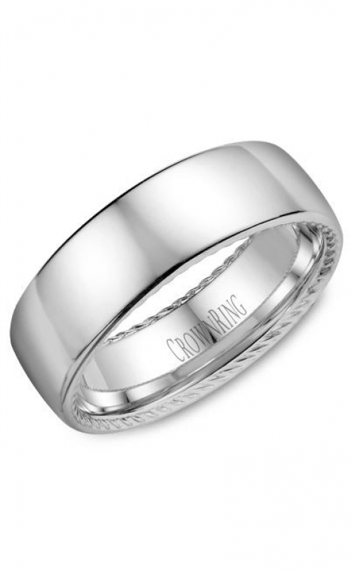 GMG Jewellers Wedding band WB-012R7W-N10 product image