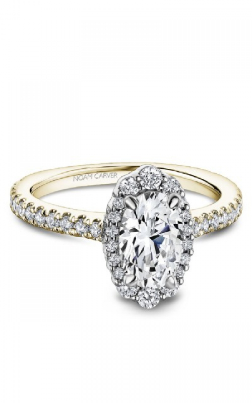 GMG Jewellers Engagement ring B521-02YWM-FCYA product image