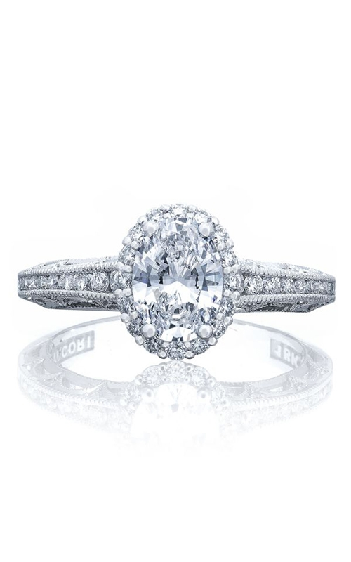 GMG Jewellers Engagement ring 2618 OV 7X5 PK product image