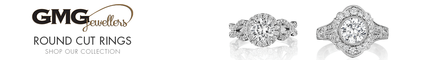 Round Cut Rings at GMG Jewellers