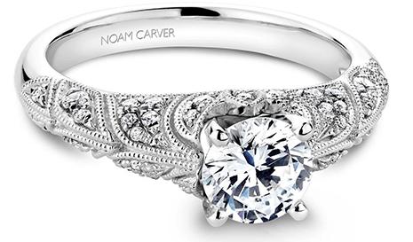Noam Carver: Top Three Romantic Engagement Rings