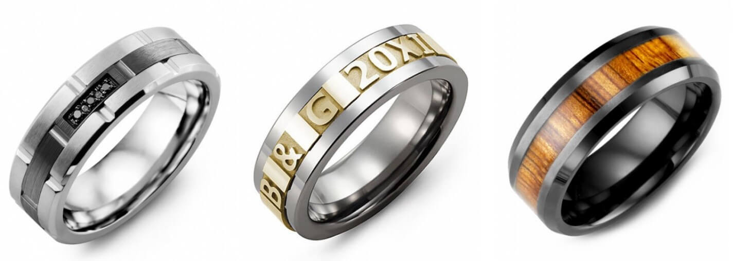 men's wedding band from Madani
