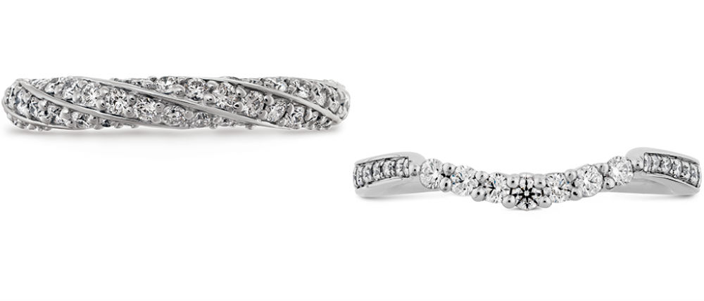 Pave Wedding Bands at GMG Jewellers